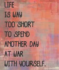 Forgive yourself, life is too short