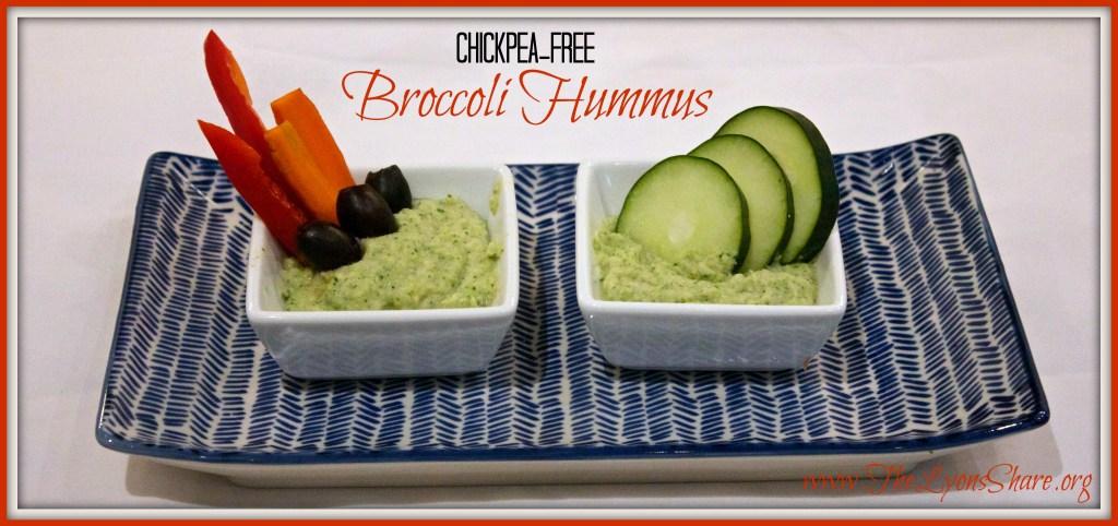 broccoli hummus The Lyons Share 2