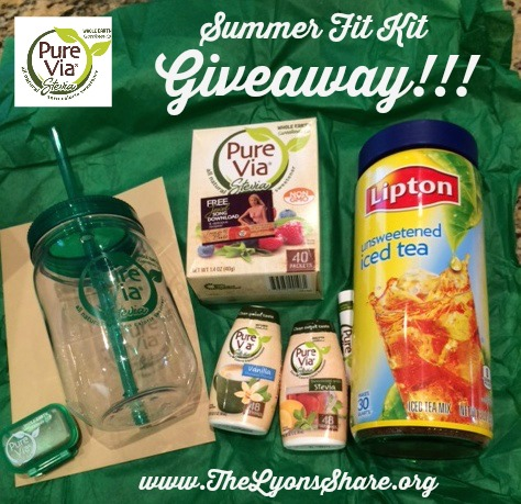 pure via summer fit kit giveaway