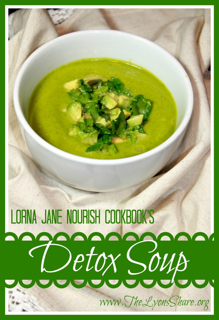 Lorna Jane Detox Soup from The Lyons Share 1
