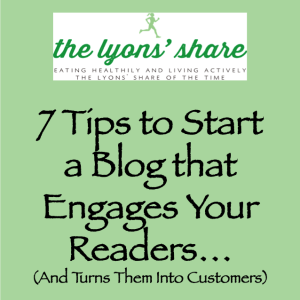 the lyons share blogging cover