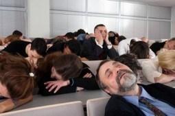 sleeping in training