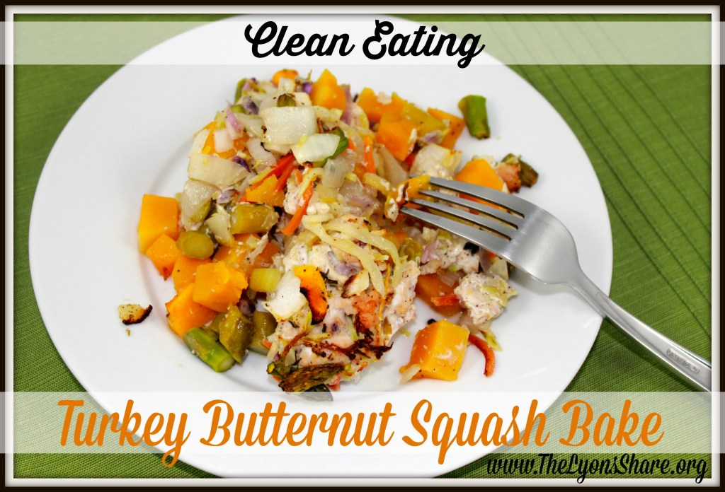 clean eating turkey butternut squash bake 2