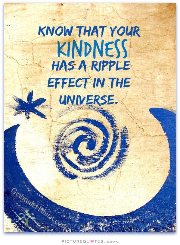 kindness ripple effect