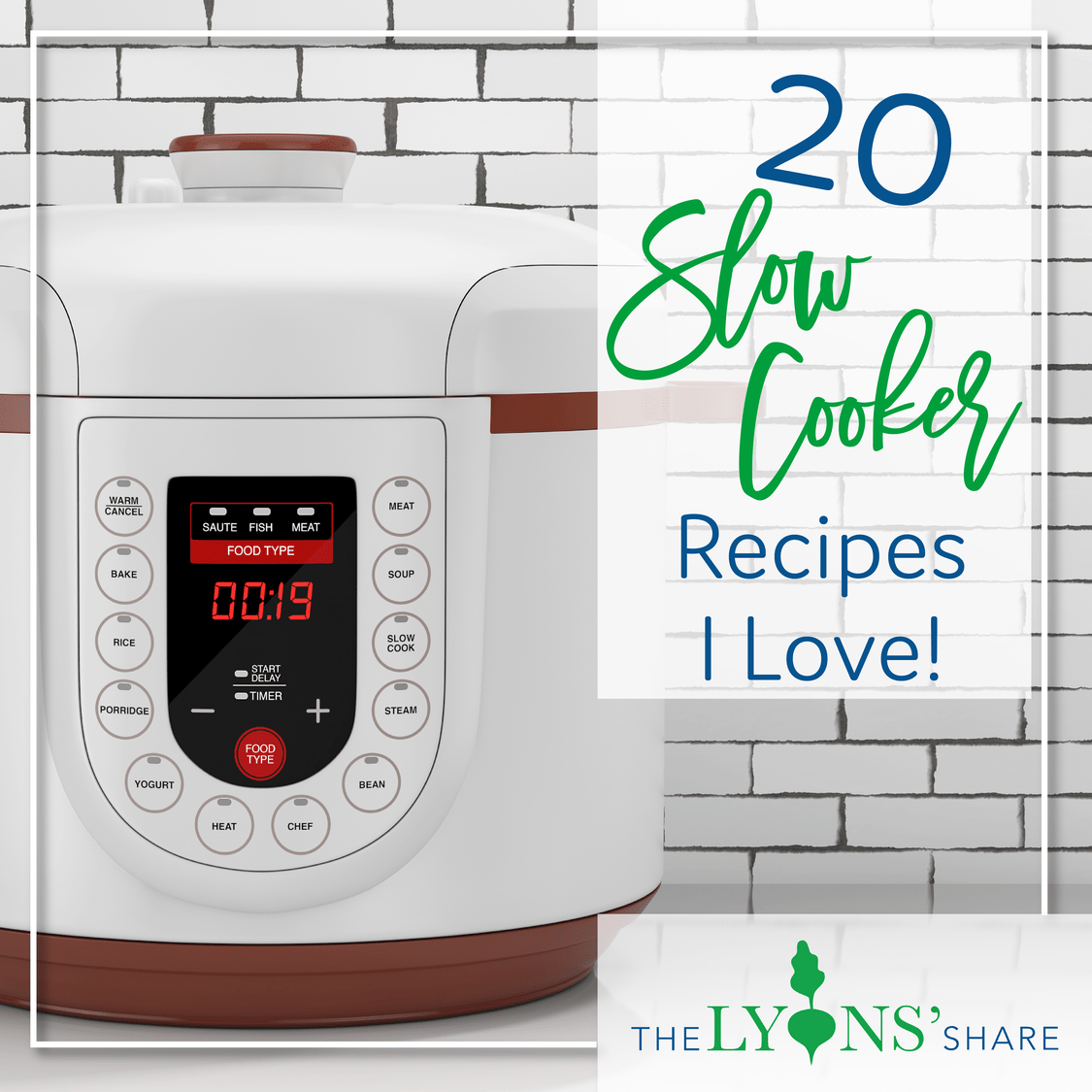 20 Healthy Slow Cooker Recipes I Love