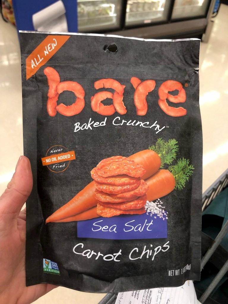 bare carrot chips