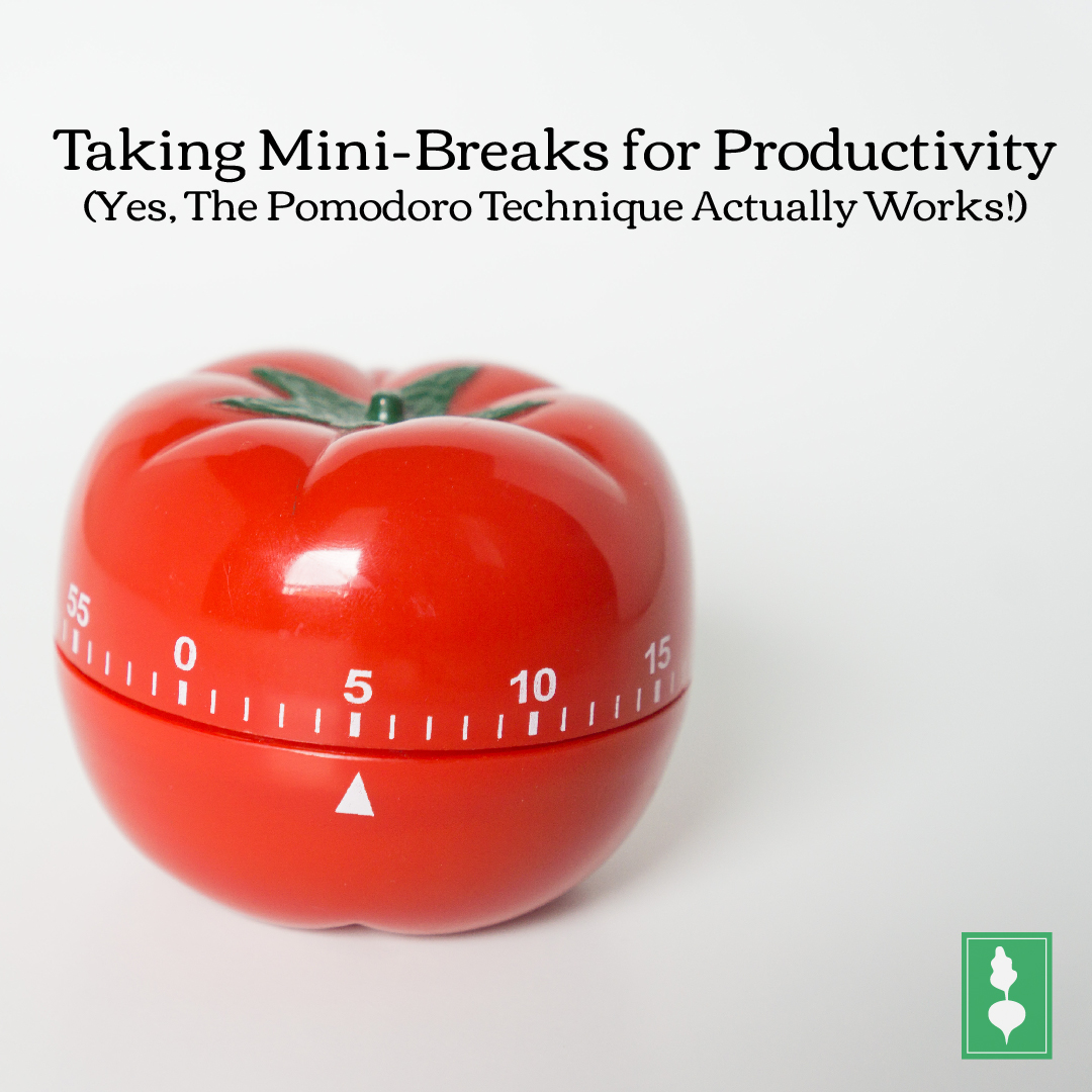 Taking Mini-Breaks for Productivity (Yes, The Pomodoro Technique Actually Works!)