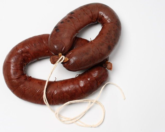 Boudin Noir, or French black pussing