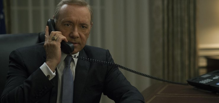 frank house of cards phone