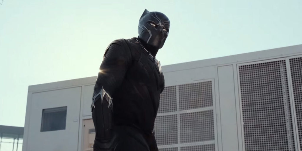 Captain America Civil War Black-Panther