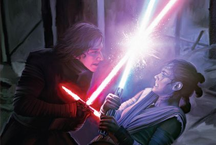 Kylo-Ren-vs-Rey-Star-Wars-Art