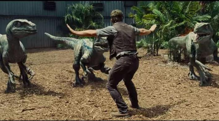 La raptor squad di Jurassic World