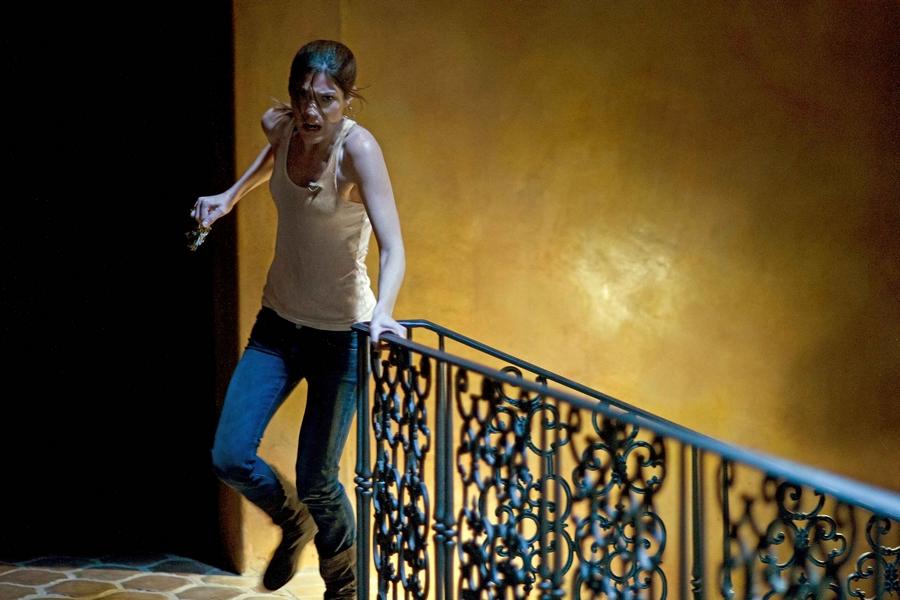 Jennifer Carpenter stars in Screen Gems' horror-thriller QUARANTINE.
