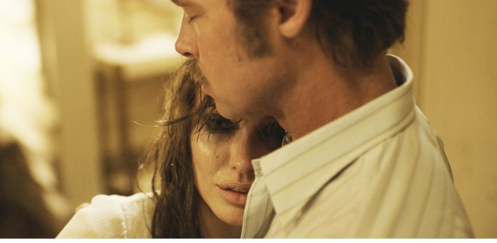 ANGELINA JOLIE and BRAD PITT star in Universal Picturesí By the Sea, her directorial follow-up to the studioís epic Unbroken. Credit: Universal Pictures