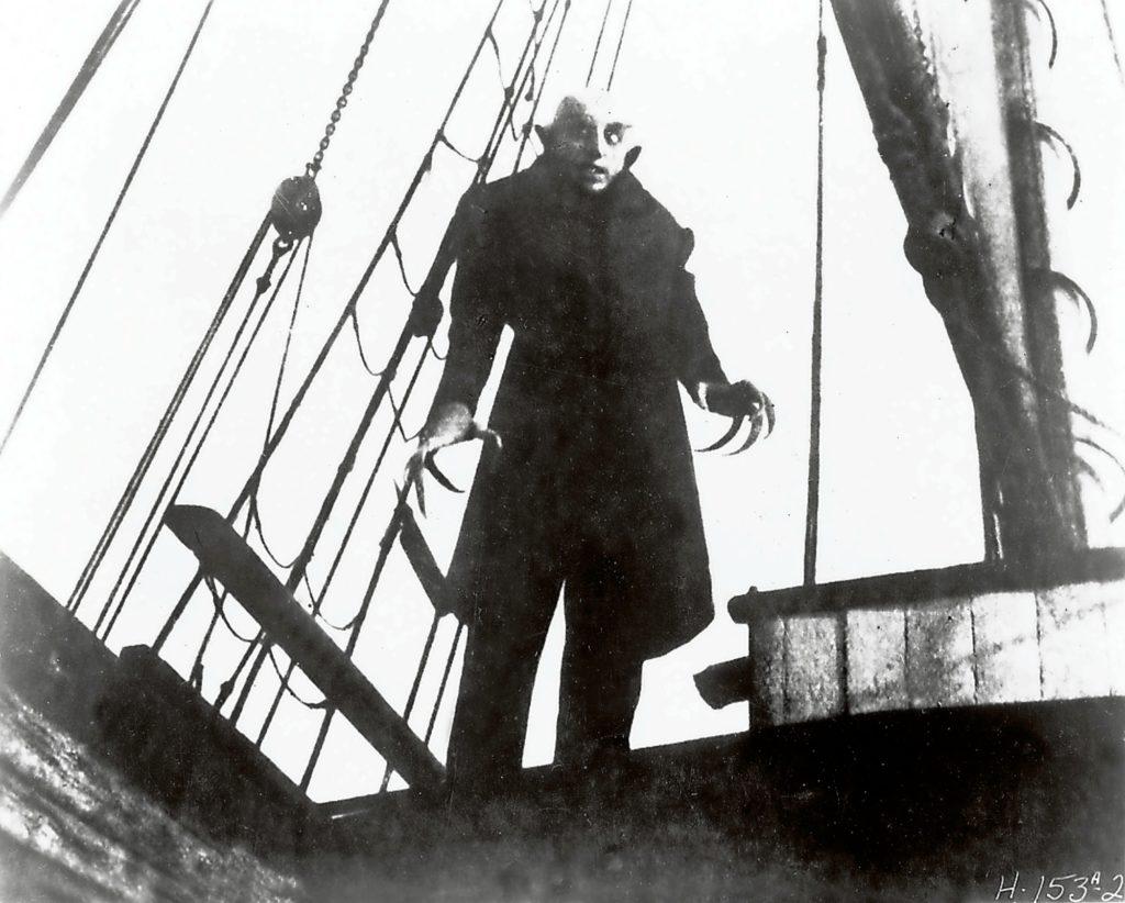 Nosferatu, eine Symphonie des Grauens, Deutschland 1921, Regie: Friedrich Wilhelm Murnau, Darsteller: Max Schreck UnitedArchives00409291