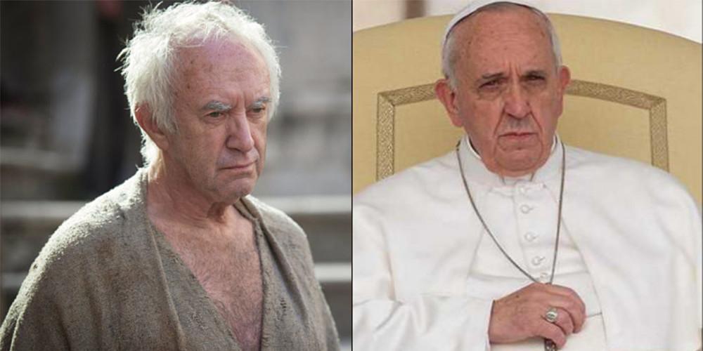 L'Alto Passero e Papa Francesco