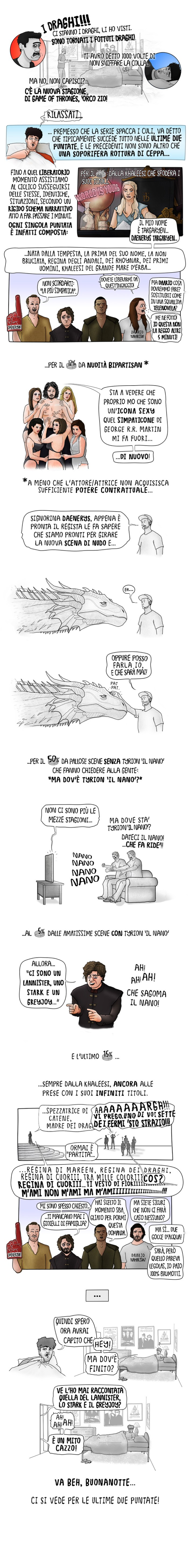 Analisi Game of Thrones