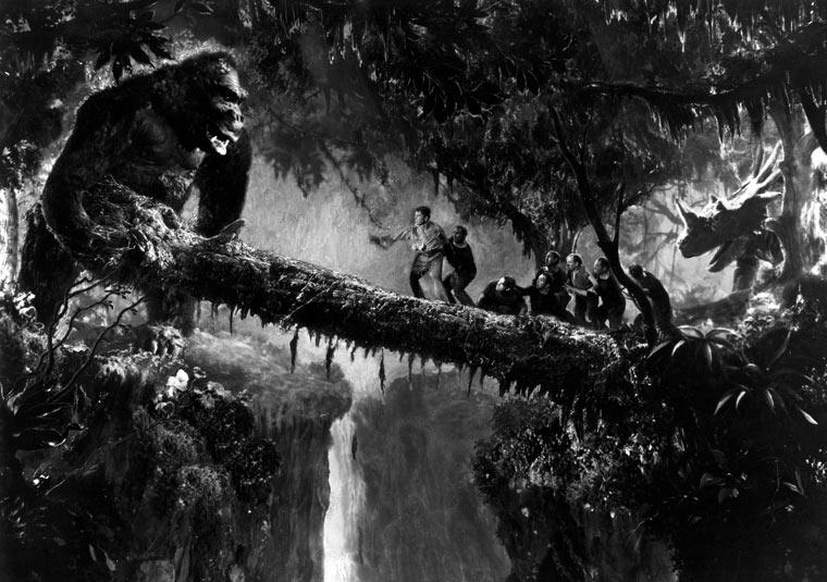 Kong e il tronco