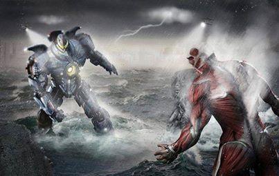 Attack on Titan vs Pacific Rim