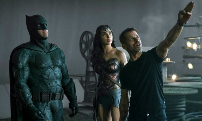 Batman, Wonder Woman e Zack Snyder