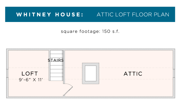 whitney loft floor plan