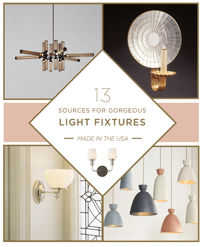 What are the best sources for lighting fixtures?