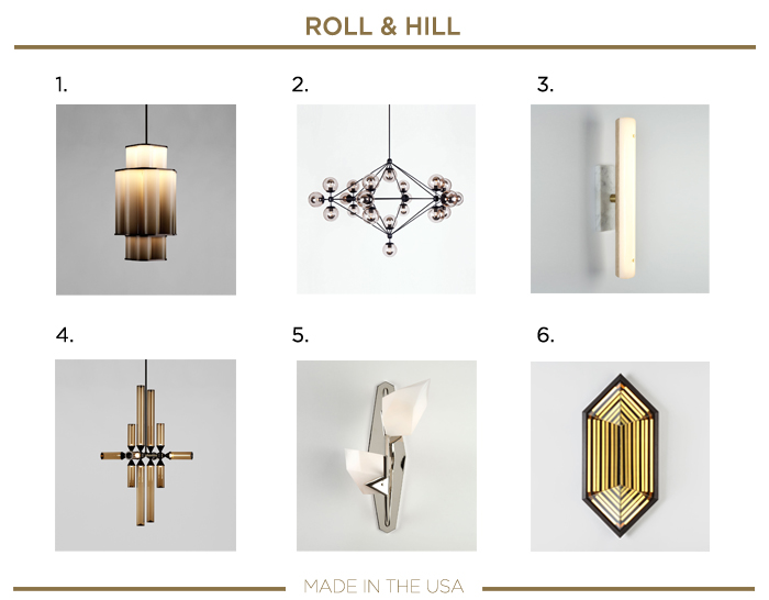 Made in the USA LIGHTING ROLL AND HILL