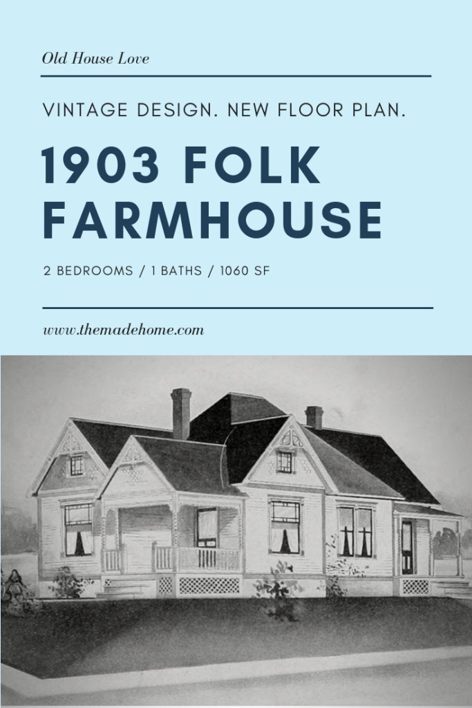 Free resource - Farmhouse plan