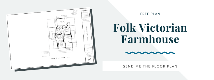 Get the folk victorian farmhouse house plan updated from 1903