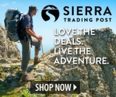 Sierra Trading Post outdoor gear, outerwear, dress wear, casual wear, home furnishing, Made in USA, Made in America, American made