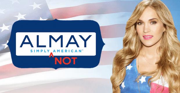 'ALMAY SIMPLY AMERICAN' SIMPLY NOT TRUE