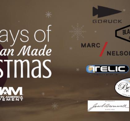 12 Days of American Made Christmas