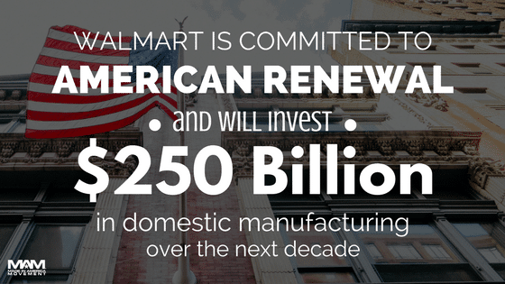 Walmart Outlines 2017 Goals for American Job Growth and Community Investment