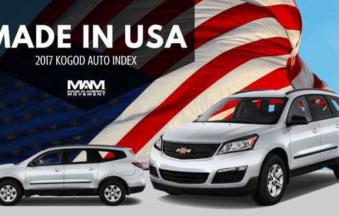Made in USA: The Most American-Made Vehicles Are, vehicle, made in usa cars, american made cars,