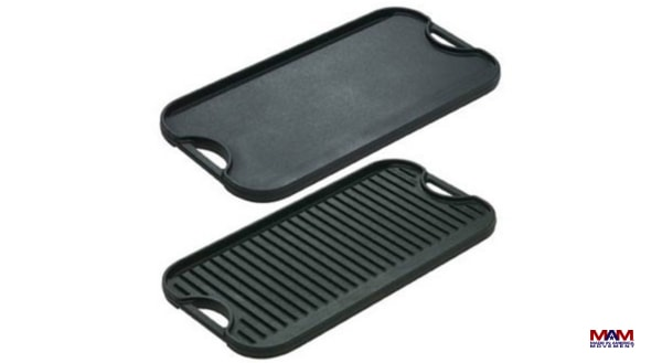 Lodge Pro Grid Iron Griddle, Fathers Day Guide, Made in America Father's Day Gifts   Made in USA Gifts For The Dad In Your Life, Father's Day Gift