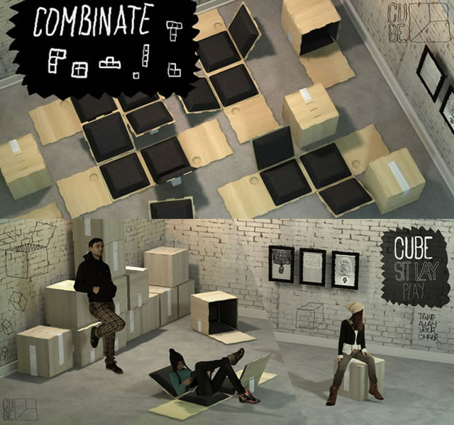 Cube Sit Lay Play EN TheMAG