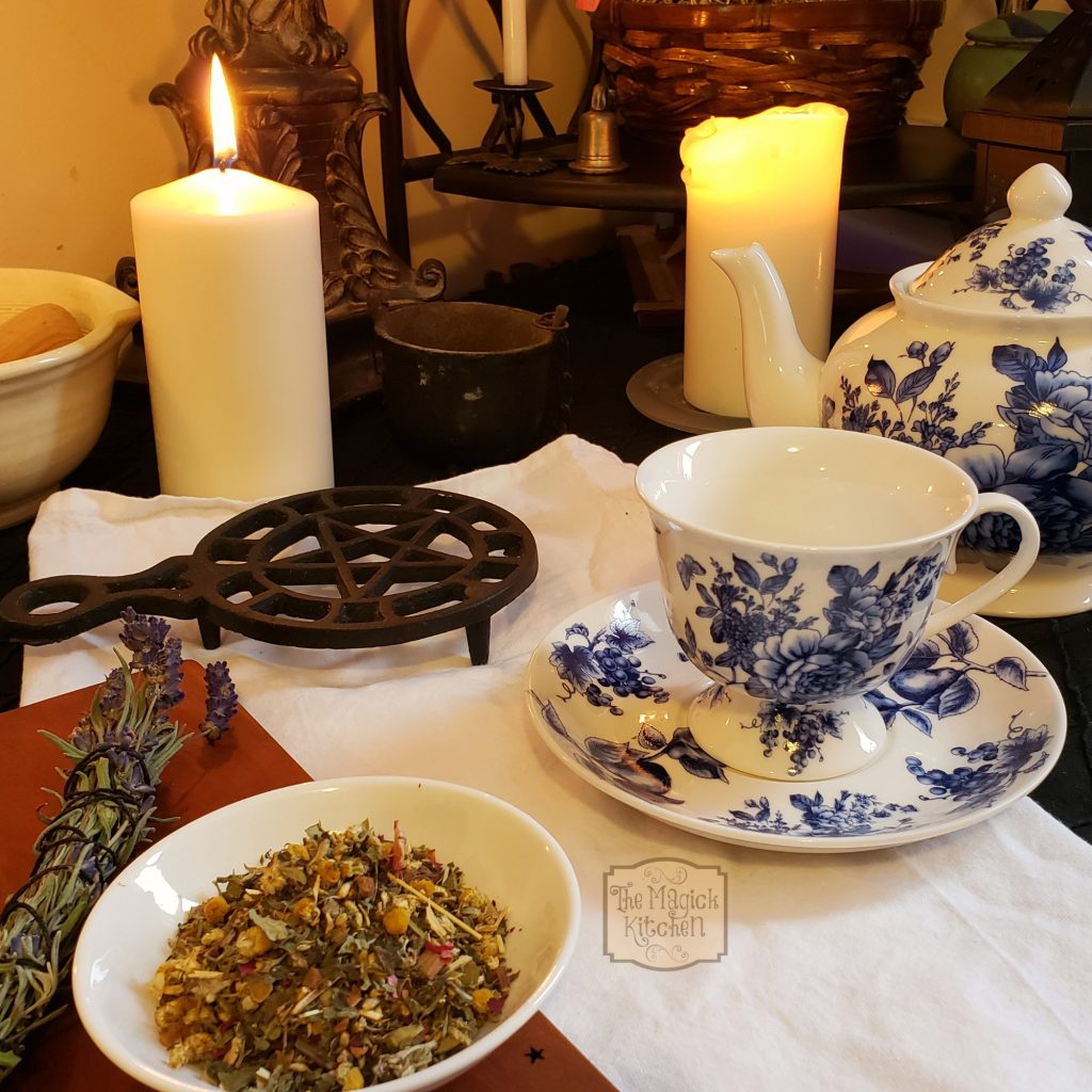Tea Witch – Witchcraft & Pagan Lifestyle Blog, The Magick Kitchen
