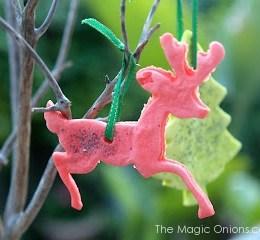 How to make Playdough Christmas Ornaments
