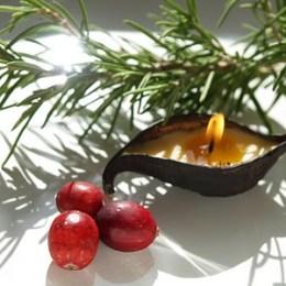 Let's make little seedpod candles.