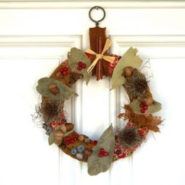 Make an Autumn Wreath.