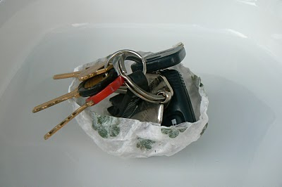 waldorf inspired, nature inspired key bowl for our handmade fathers day