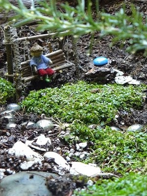 What imagination in this beautiful Fairy Garden