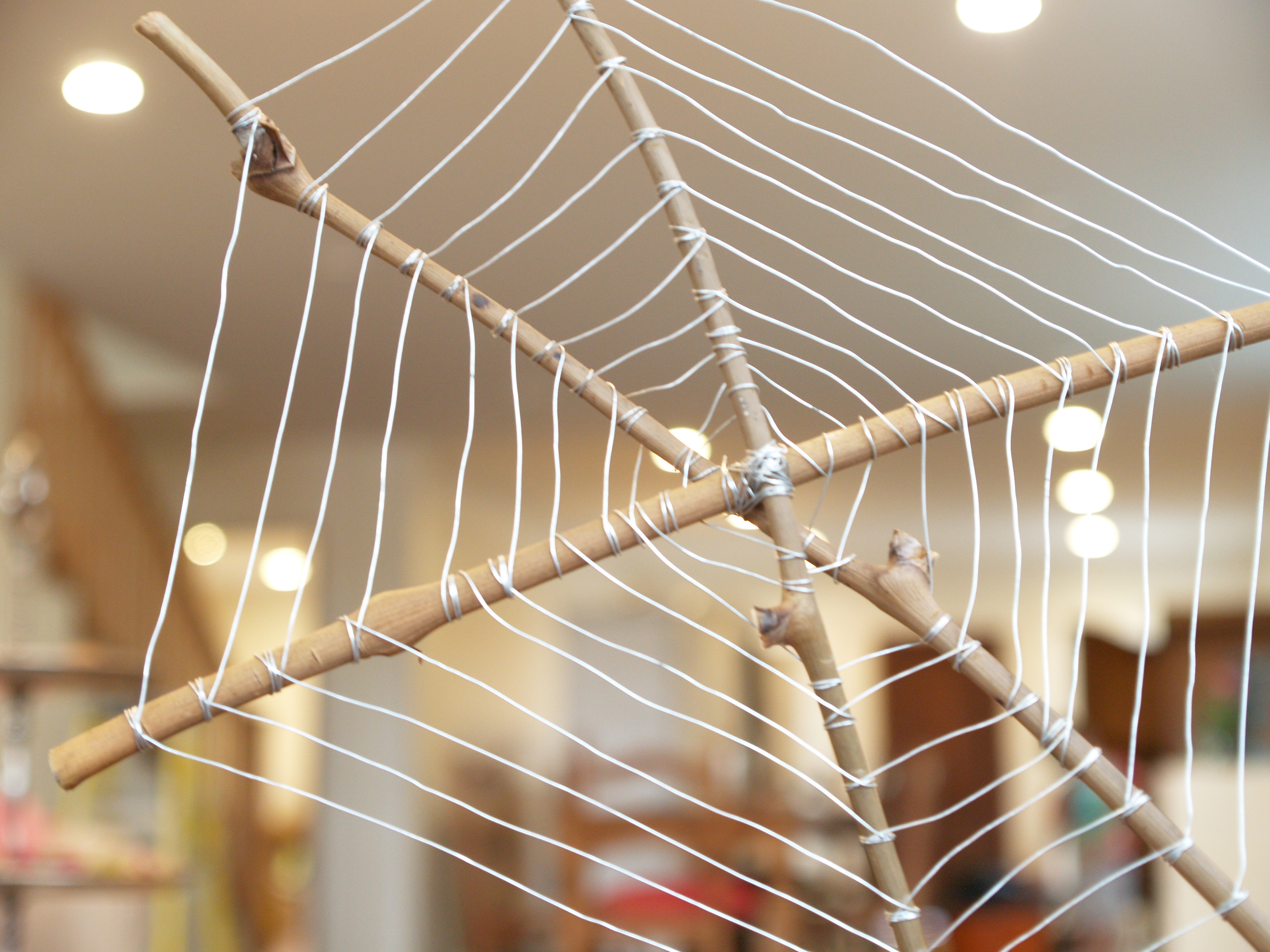 Let S Make A Wire Spiderweb For Halloween