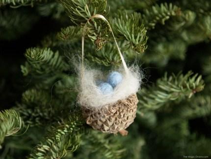 Acorn Nest Tutorial  : www.theMagicOnions.com