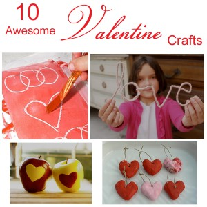 Valentines Day Crafts : www.theMagicOnions.com