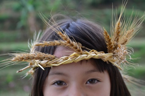 Autumn Wheat Crown : www.theMagicOnions.com