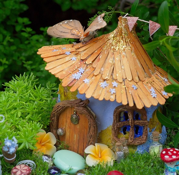 Fairy Gardens on The Magic Onions _ www.theMagicOnions.com