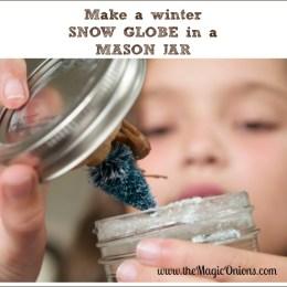Make a Beautiful Winter Wonderland Snow Globe