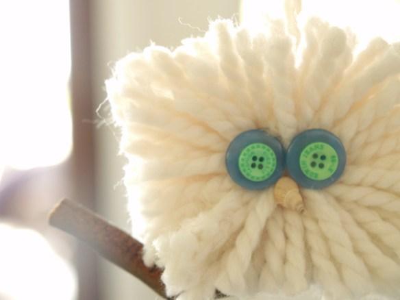 Wool Owl Christmas Ornament : www.theMagic Onions.com