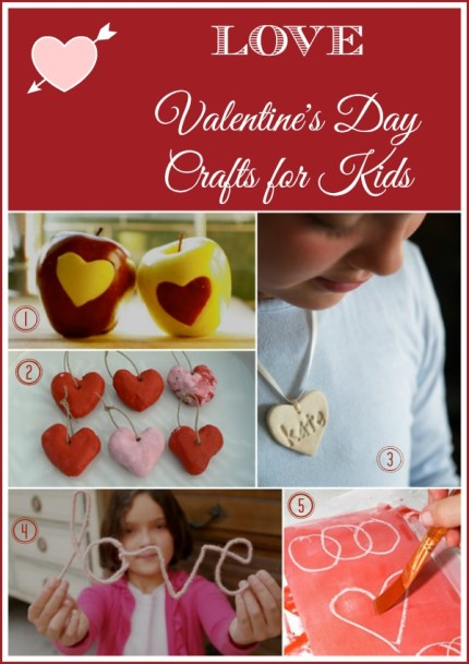 Lovely Valentine's Day Crafts for Kids : www.theMagicOnions.com